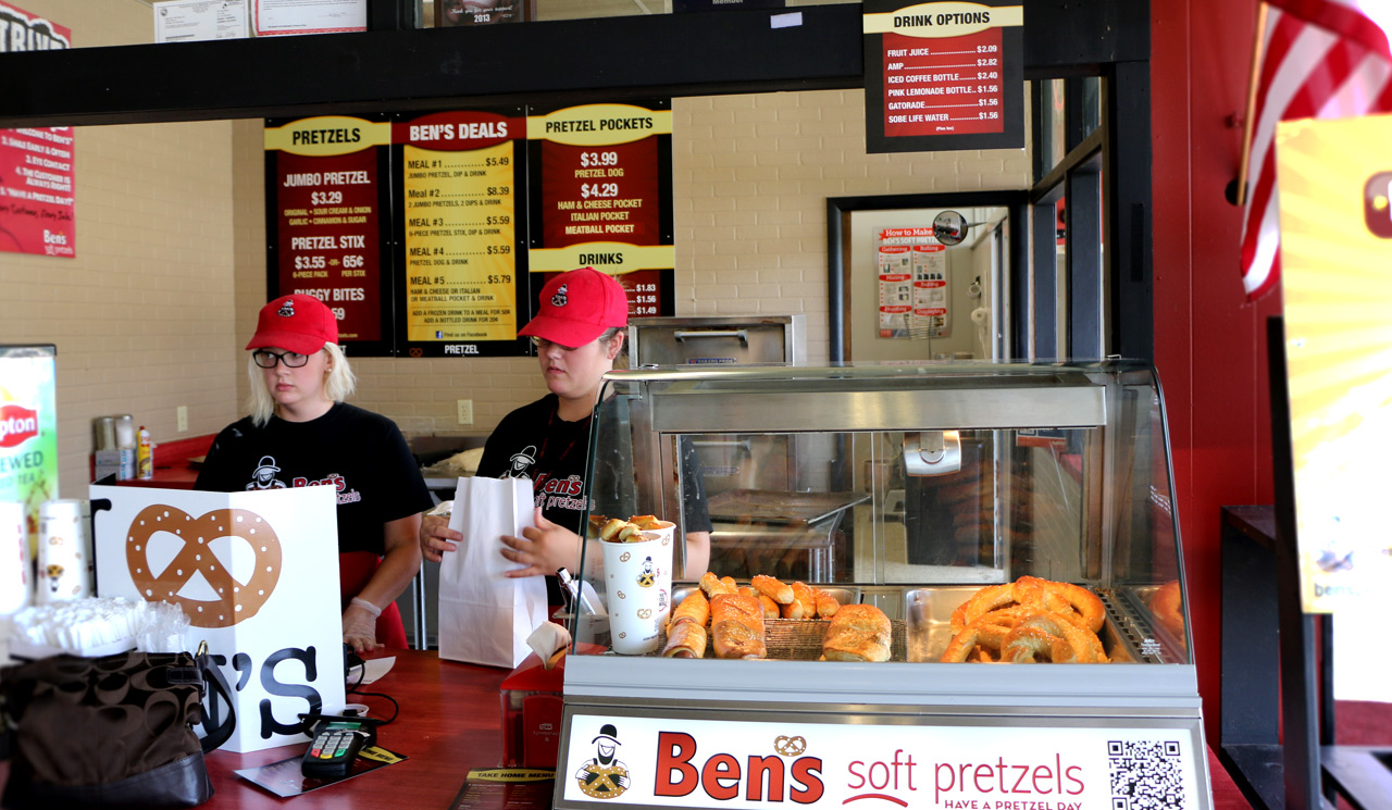 Brian Krider, Ben's Soft Pretzels - The Good of Goshen