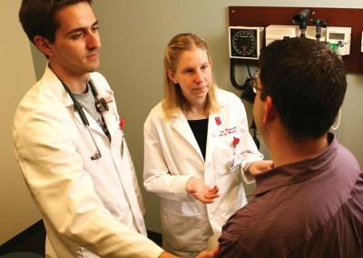 We are receiving applications from students to further their education towards a career in medicine.