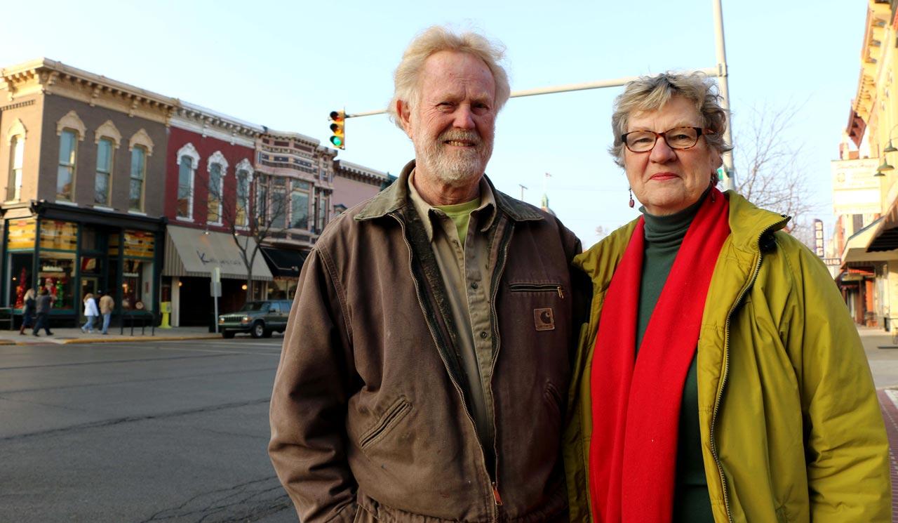 David Pottinger and Faye Peterson - The Good of Goshen