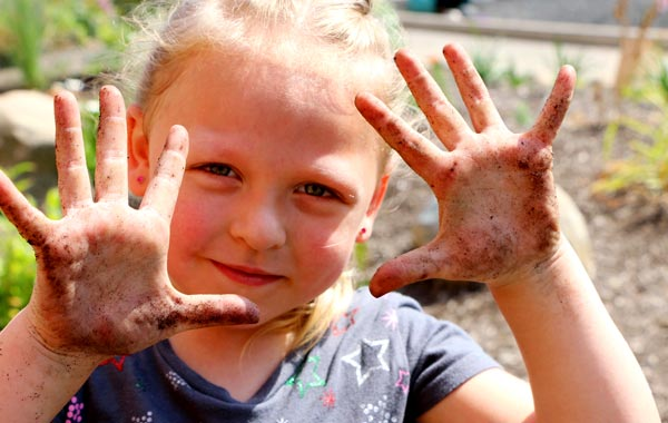 School Gardens Offer Hands-in-the-Dirt Education