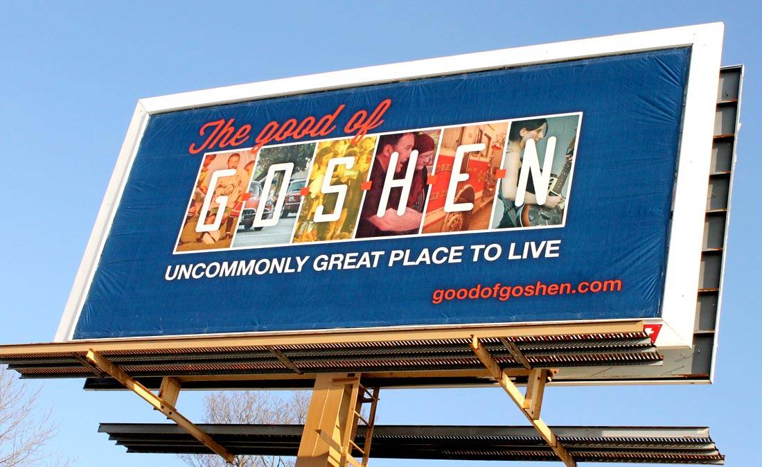 Keep an eye out for more stories about the Good of Goshen.