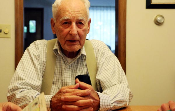 A Part of History: WWII Veteran Shares His Story