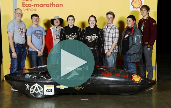 Super Mileage Club Offers Fast Track to Engineering