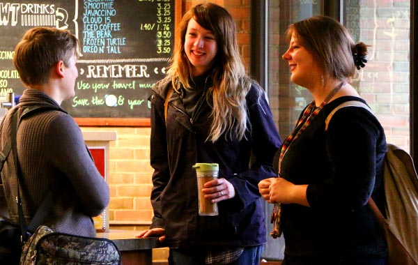 Coffee Shop Offers Real-World Business Experience for Students