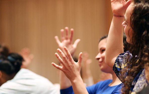 """Goshen College ASL Program Gives """"Hands-On"""" Experience New Meaning"""
