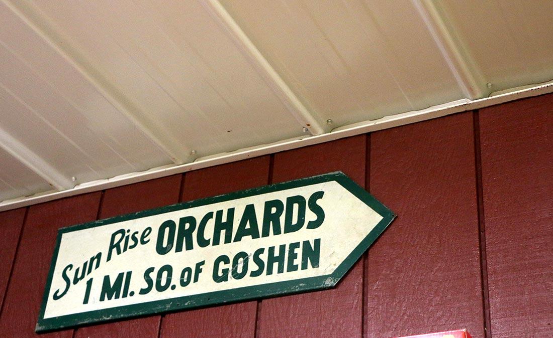 Kercher's Sunrise Orchard • The Good of Goshen