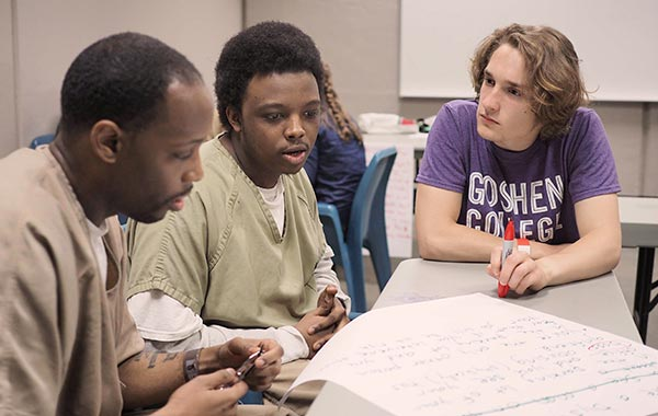 Goshen College Breaks Down Barriers at the County Jail