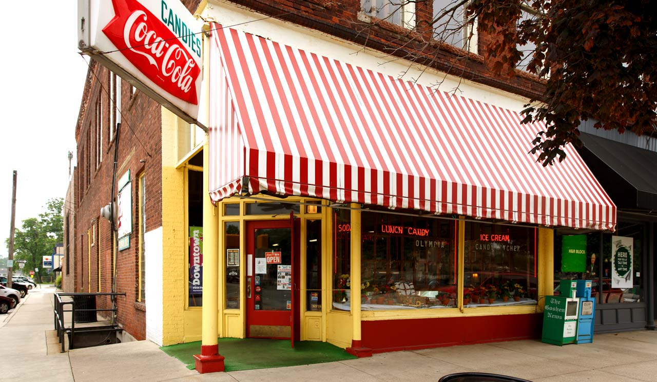Olympia Candy Kitchen • Good of Goshen • photo credit: Grant Beachy