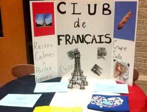 French Club at Goshen High School