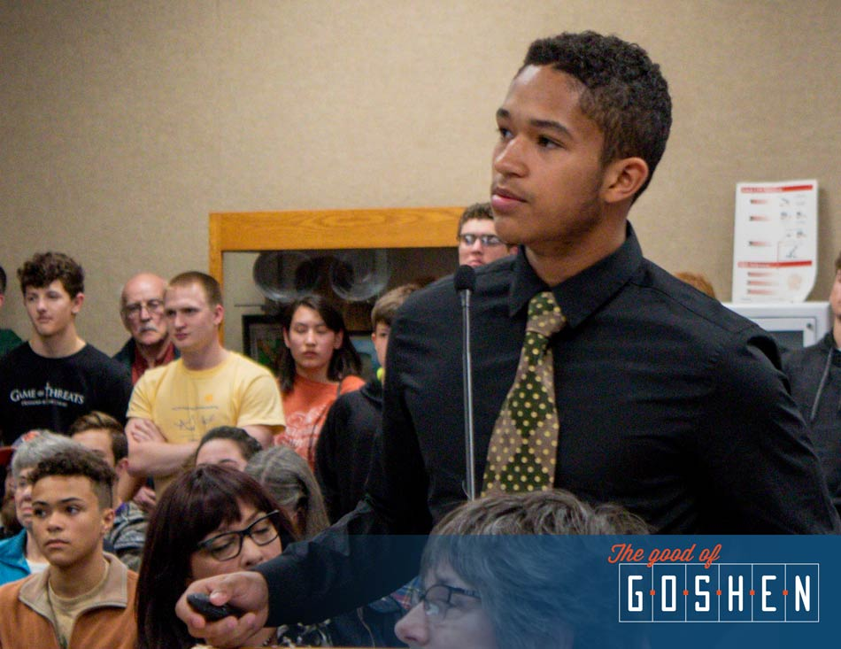 GHS Youth Caucus • The Good of Goshen