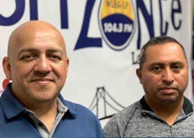 Manuel Cortez and Oscar Molina