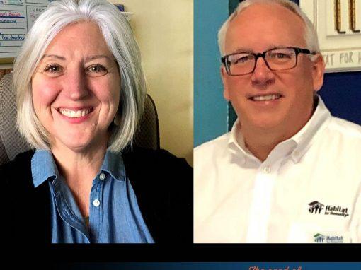 Greg Conrad and Kristin Hall