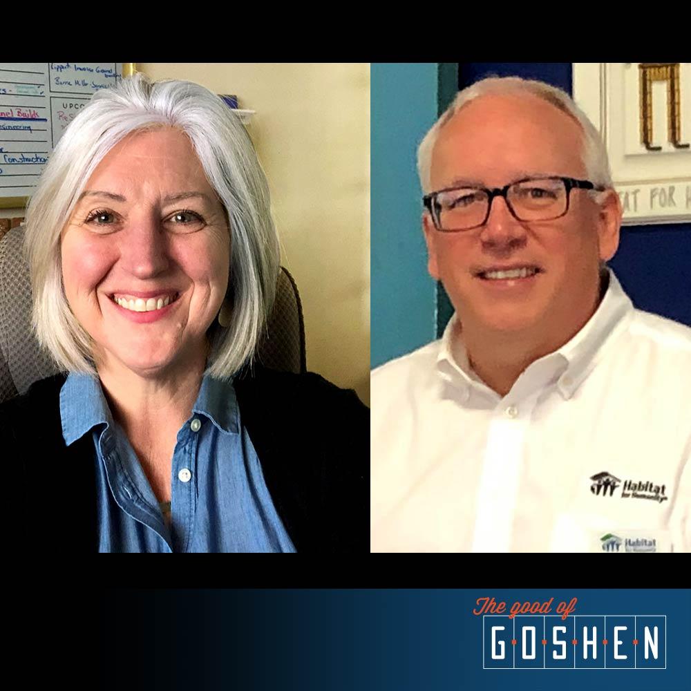 Greg Conrad and Kristin Hall • The Good of Goshen