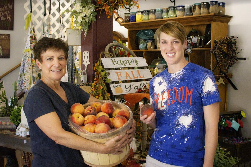 Mollie Kieffer and Maureen Kercher • Kercher's Orchard • The Good of Goshen