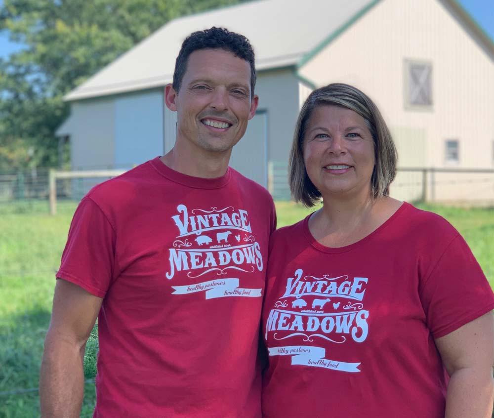 Ryan and Katrina Schrock • Vintage Meadows • The Good of Goshen